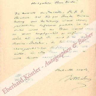 Weil von Weilen, Josef, Schriftsteller (1828-1889).