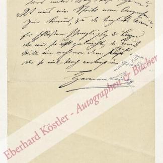 Lingg, Hermann von, Schriftsteller (1820-1905).