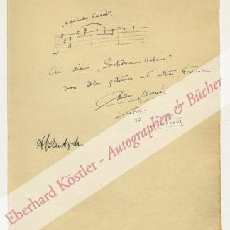 Manén, Joan, Komponist und Violinist (1883-1971).