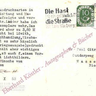 Roh, Franz, Kunstkritiker und Fotograf (1890-1965).