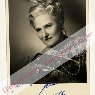 Wagner, Hilde, Schauspielerin (1904-1992).