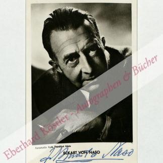 Naso, Eckart von, Schriftsteller (1888-1976).