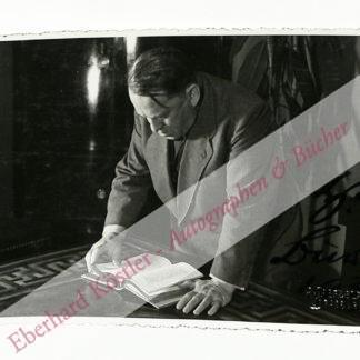 Burte, Hermann, Schriftsteller (1879-1960).