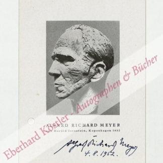 Meyer, Alfred Richard (Pseud. Munkepunke), Schriftsteller (1882-1956).