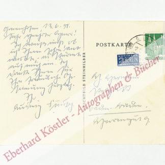 Finckh, Ludwig, Schriftsteller und Arzt (1876-1964).