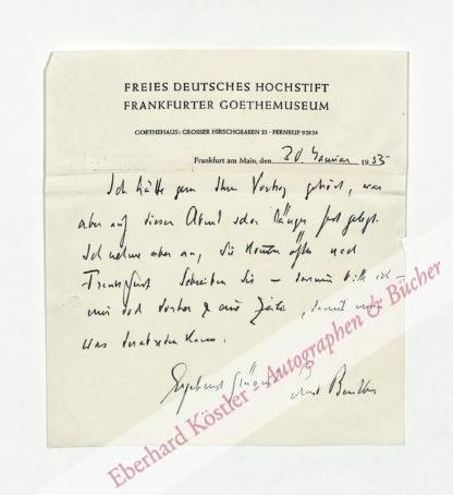 Beutler, Ernst, Literaturhistoriker (1885-1960).