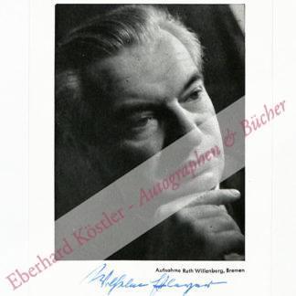 Pleyer, Wilhelm, Schriftsteller (1901-1974).
