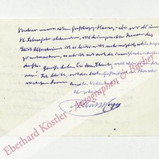 Herzog, Albert, Schriftsteller und Journalist (1857-1955).