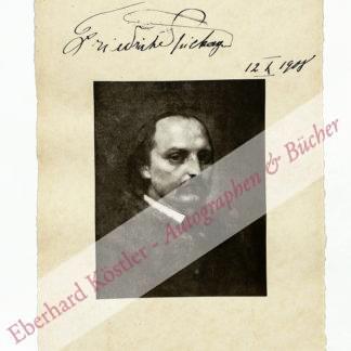 Spielhagen, Friedrich, Schriftsteller (1829-1911).