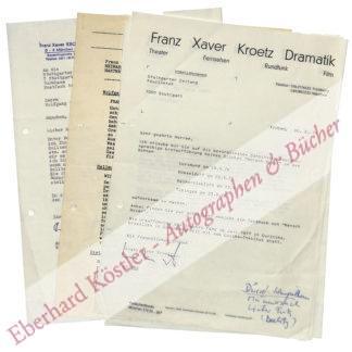 Kroetz, Franz Xaver, Schriftsteller und Schauspieler (geb. 1946).