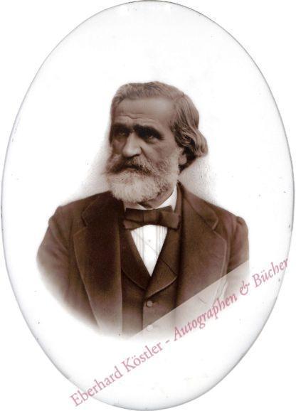 Verdi, Giuseppe, Komponist (1813-1901).