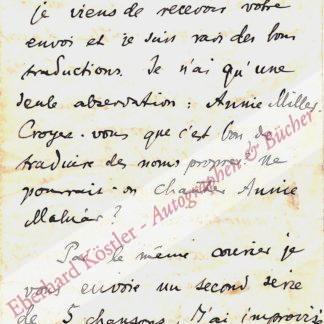 Kodály, Zoltán, Komponist (1882-1967).