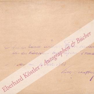 Scheffel, Joseph Victor von, Schriftsteller (1826-1886).