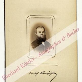 Kleinwächter, Friedrich von, Nationalökonom (1838-1927).