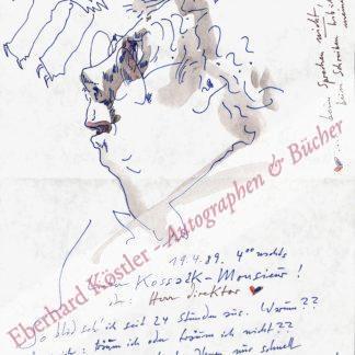 Janssen, Horst, Zeichner und Graphiker (1929-1995).