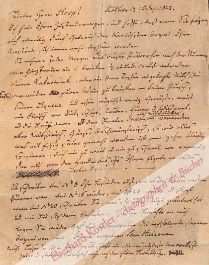 Hahnemann, Samuel, Arzt, Begründer der Homöopathie (1755-1843).