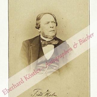 Halm, Friedrich (d. i. Franz Josef von Münch-Bellinghausen), Schriftsteller (1806-1871).