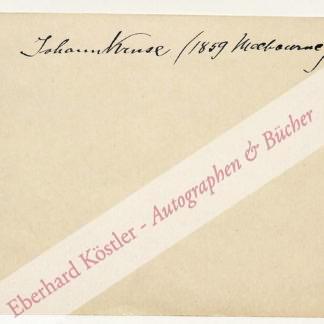 Kruse, Johann, Violinist (1859-1927).