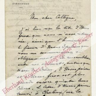 Dupont, Édouard-François, Geologe und Paläontologe (1841-1911).