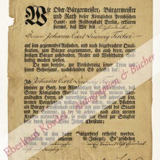 Berlin -  Bürgerbrief -,  .