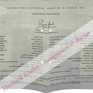 Wagner-Kreis -  Loriot (d. i. Vicco von Bülow)