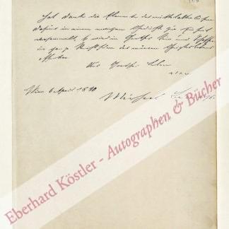 Bernays, Michael, Literarhistoriker (1834-1897).