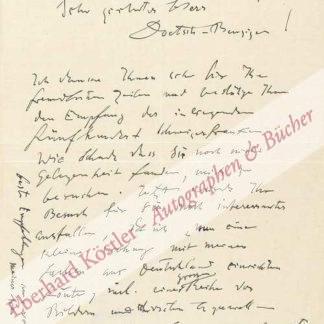 Klee, Paul, Maler und Grafiker (1879-1940).