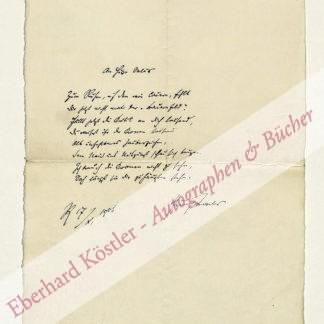 Teweles, Heinrich, Schriftsteller (1856-1927).