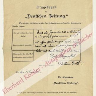 Wirth, Bettina, Schriftstellerin (1849-1926).