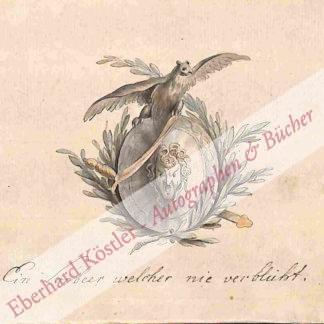 Goethe-Kreis -  Geyser, Christian Gottlieb, Kupferstecher und Buchillustrator (1742-1803).