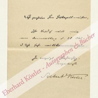 Köster, Albert, Literaturhistoriker (1862-1924).