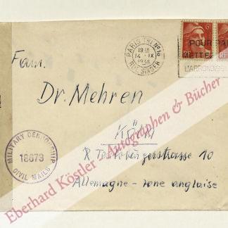 Sänger, Eugen, Raumfahrtingenieur (1905-1964).
