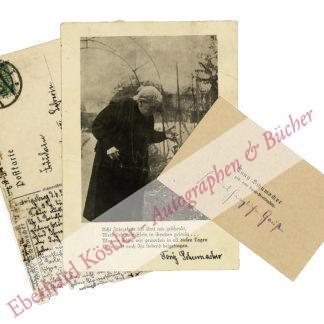 Schumacher, Tony, Schriftstellerin (1848-1931).