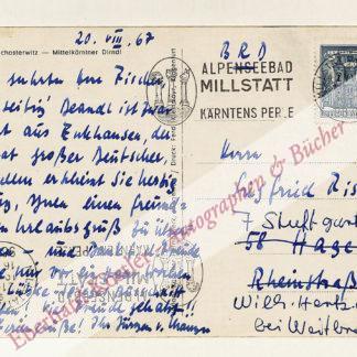 """Manger, Jürgen von, Kabarettist, """"Tegtmeier"""" (1923-1994)."""
