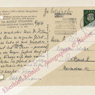 Spemann, Adolf, Verleger (1886-1964).