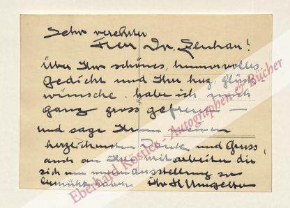 Umgelter, Hermann, Maler (1891-1962).