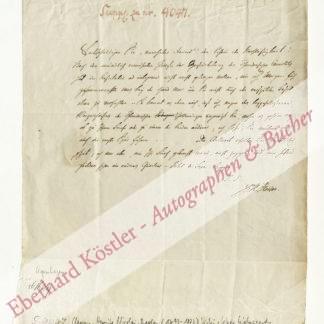 Clausen, Henrik Nicolai, Theologe, Lehrer Kierkegaards (1793-1877).