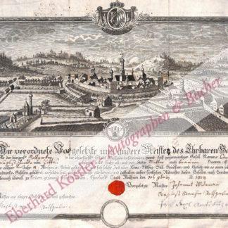 Weilheim in Obb. -  Handwerkskundschaft -,  .