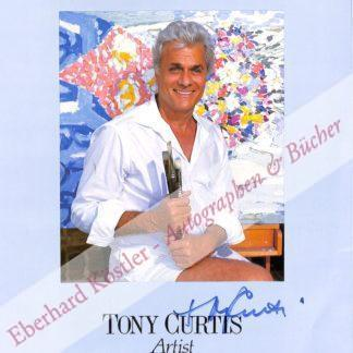 Curtis, Tony (d. i. Bernard Schwartz), Schauspieler und Maler (1925-2010).