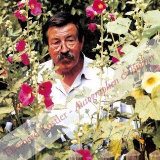 Grass, Günter, Schriftsteller und Nobelpreisträger (1927-2015).