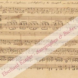 Diabelli, Anton, Komponist und Musikverleger (1781-1858).
