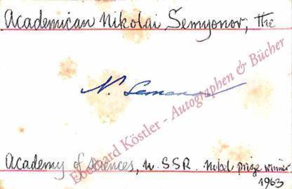 Semjonow [Semenov]