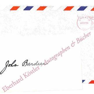 Bardeen, John, Physiker und Nobelpreisträger (1908-1991).