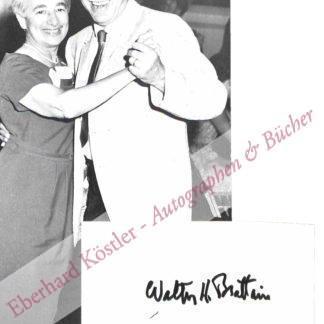 Brattain, Walter Houser, Physiker und Nobelpreisträger (1902-1987).