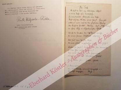 Rilke, Rainer Maria, Schriftsteller (1875-1926).