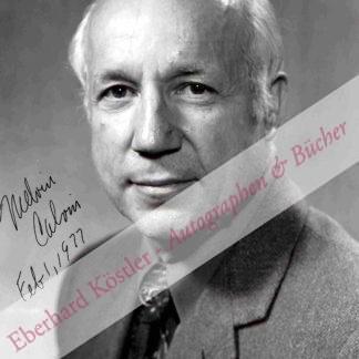 Calvin, Melvin, Chemiker, Biochemiker und Nobelpreisträger (1911-1997).