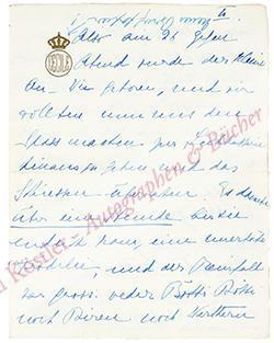 Cecilie, Kronprinzessin des Deutschen Reiches (1886-1954).