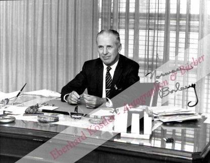 Borlaug, Norman Ernest, Agrarwissenschaftler und Nobelpreisträger (1914-2009).