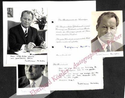 Brandt, Willy, Politiker und Nobelpreisträger (1913-1992).