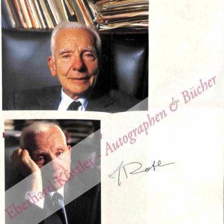 Rotblat, Joseph, Physiker und Nobelpreisträger (1908-2005).